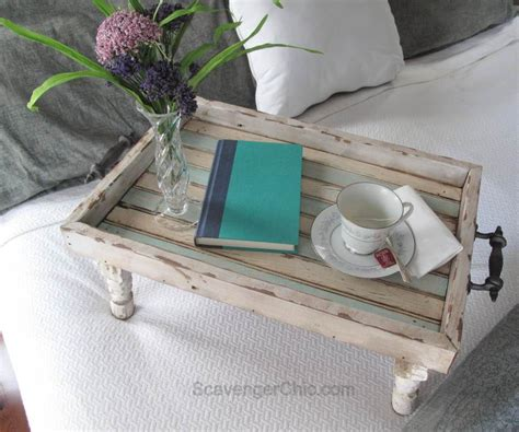 diy tray bed tray diy reclaimed wood tray beach decor serving