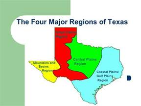 the four major regions of ppt