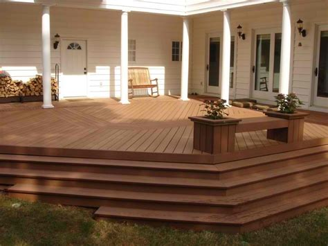 Composite Porch Flooring by Trex Transcends Archadeck Of Central Ga
