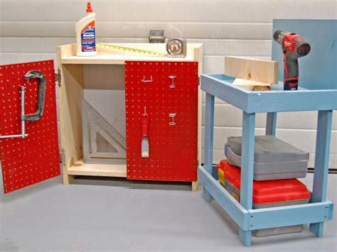 create  easy kids workbench hgtv