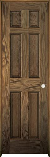 Prefinished Prehung Interior Doors by Mastercraft Pref Chestnut Oak 6 Panel Prehung
