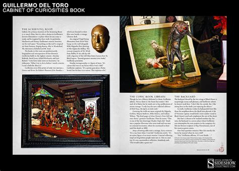 of curiosities book guillermo del toro of curiosities limited edition