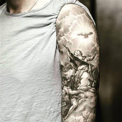 155 charming angel tattoos most popular designs of 2018