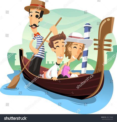 cartoon venice boat venice italy gondola rides clip art cliparts