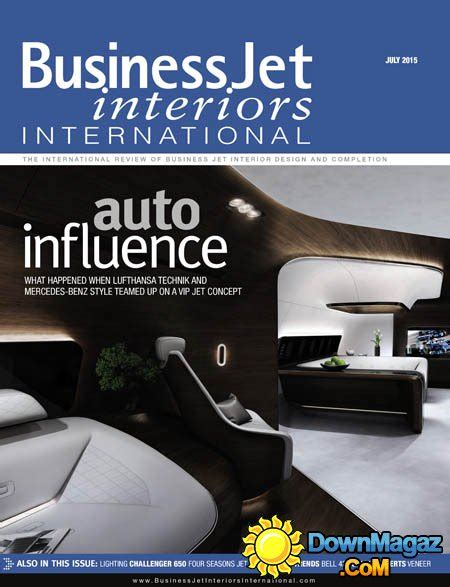 Aircraft Interiors Magazine by Business Jet Interiors International Usa July 2015