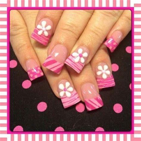 imagenes de uñas decoradas de tigre fotos de u 241 as pintadas color rosa 50 ejemplos pintar