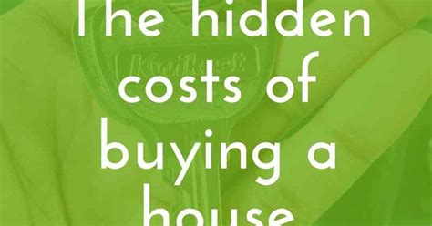 average cost of buying a house the hidden costs of buying a house a relaxed gal