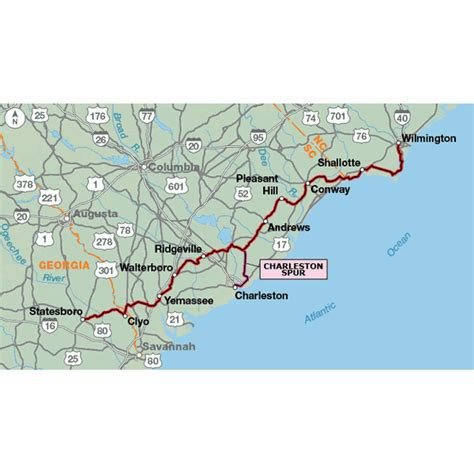 Coast Section by Adventure Cycling Association Atlantic Coast Section 5