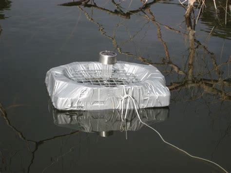 diy solar powered pond feeder petdiys