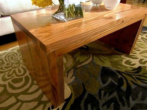 build  coffee table hgtv
