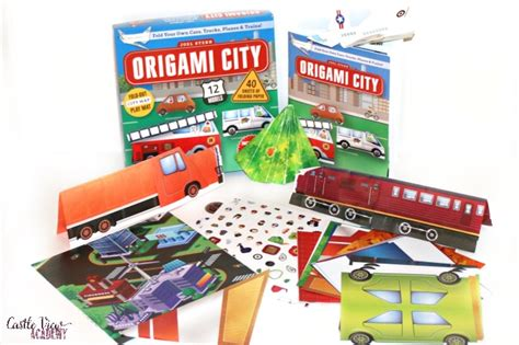 origami city 3 great origami kits for the whole family castle view