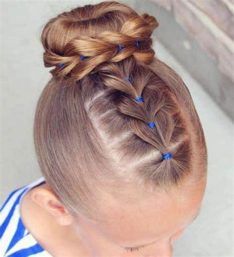 como colocar la cinta en los peinados de nia 40 peinados para ni 241 as f 225 ciles y r 225 pidos tutos paso a