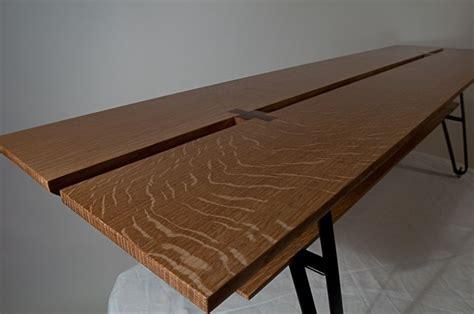 quarter sawn oak table made quarter sawn white oak blt bench low table by
