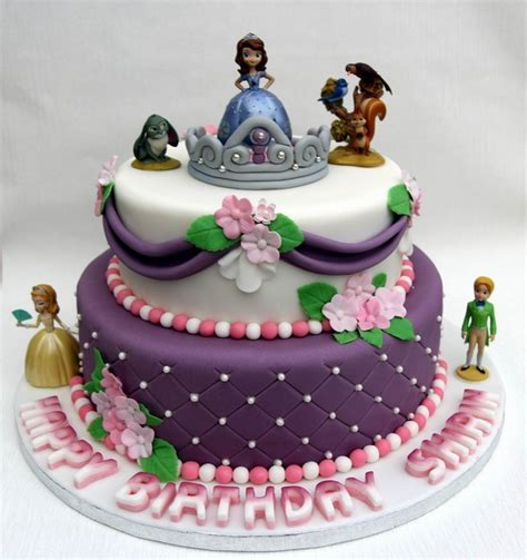 Sofia Girls Birthday Cake   Personalised Cakes for Birthdays Weddings and special occasions in