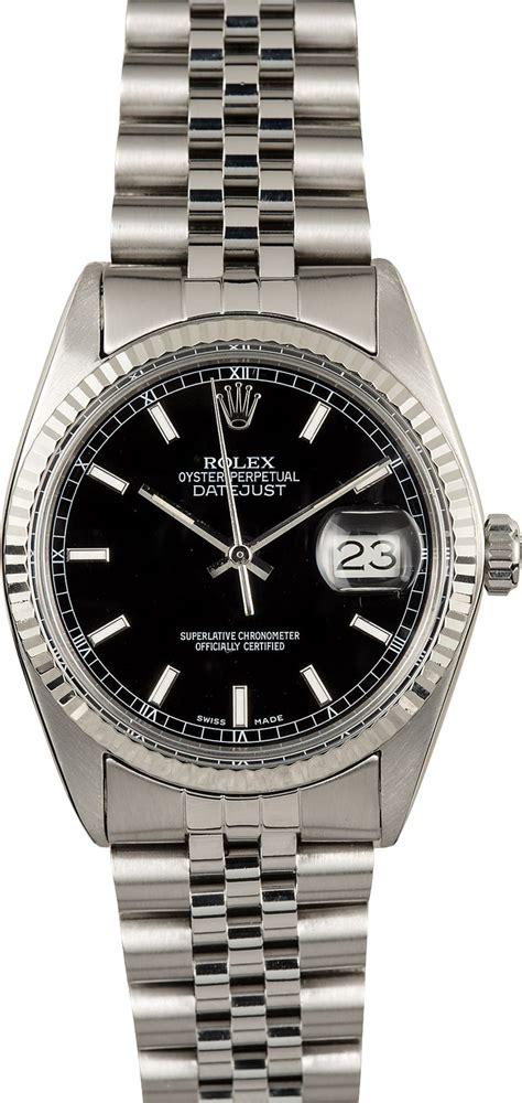 Rolex Steel Datejust rolex datejust 16014 stainless steel