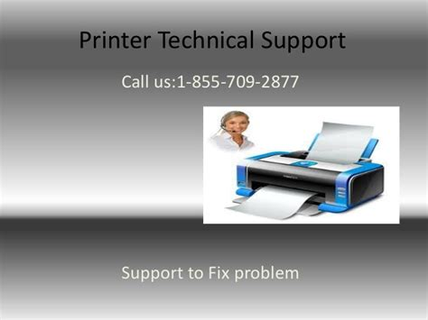 printer technical support     phone number printer cust