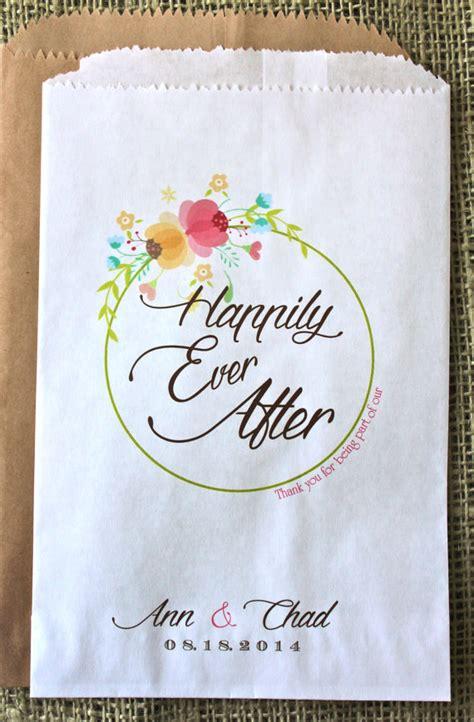 wedding favor bag candy buffet bag