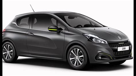 peugeot grey 2016 peugeot 208 hurricane grey
