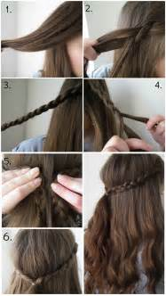 quick easy braid hairstyle lauren victoria beauty