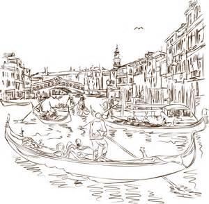 москва река рисунок карандашом