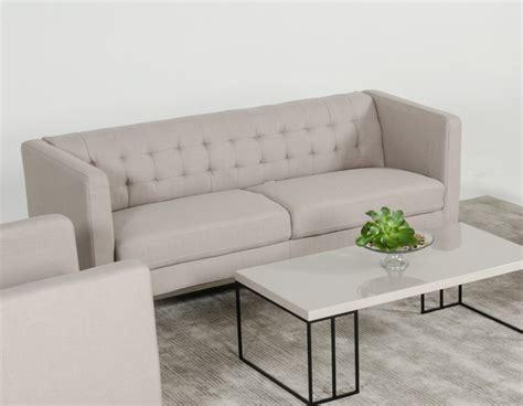 casa sofas divani casa dominic modern grey fabric sofa