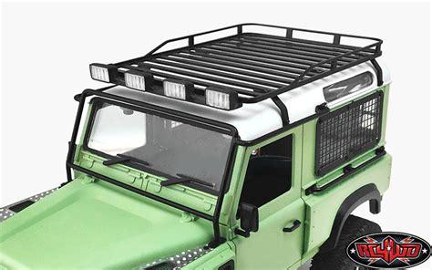 pod roof rack roof rack with light pods for 1 18 gelande d90 black