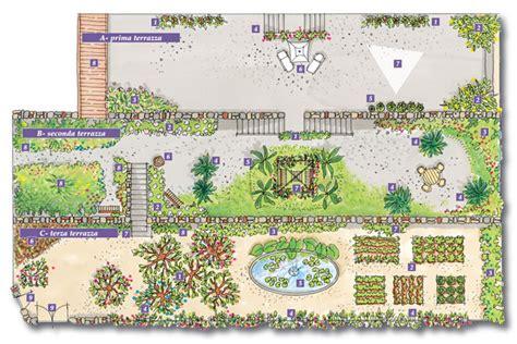terrazze e giardini progettare un giardino a terrazze fai da te in giardino