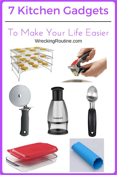 must have kitchen gadgets 2017 7 kitchen gadgets to make your life easier wrecking routine