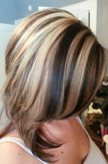 hair color ideas with highlights and lowlights google thick highlight lowlight hair styles pinterest thick