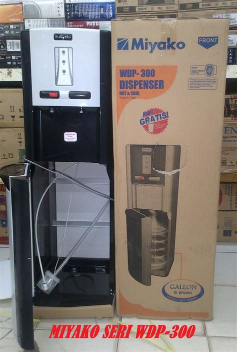 Dispenser Miyako Galon Atas jual miyako dispenser seri wdp 300 galon bawah