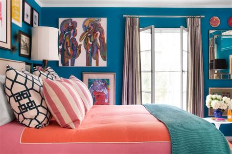 caribbean ideas a small bedroom packed with cool caribbean colors hgtv