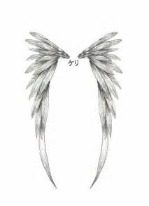 simple angel tattoo designs simple wings wing design by