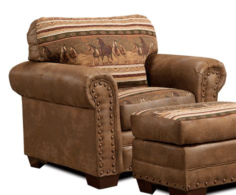 western sofas and chairs western furniture wild horses chair lone star western decor