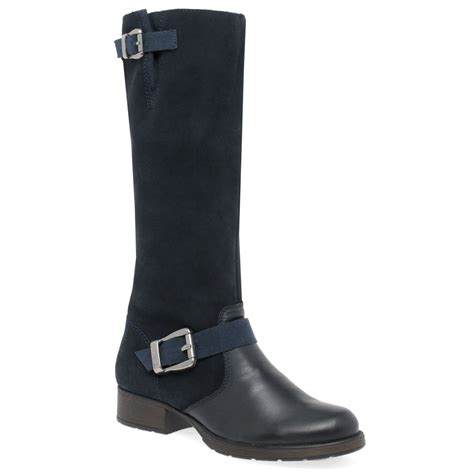 rieker feline boots womens black charles clinkard
