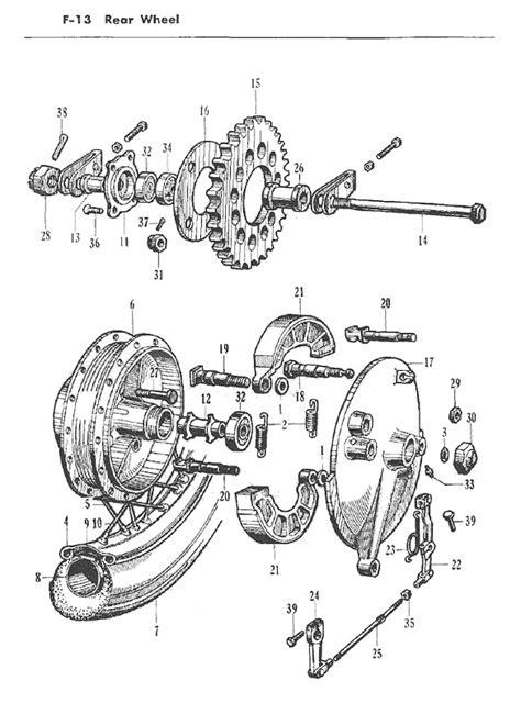 Honda cb72 parts manual