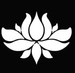 Significance Of The Lotus Flower Pin Poses Stylized Clip Vector Royalty