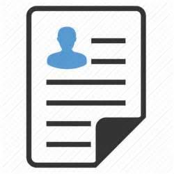 curriculum cv file portfolio profile resume vacancy