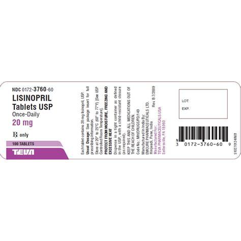 Noperten 10mg Lisinopril 6 S lisinopril 20mg 100 tabs
