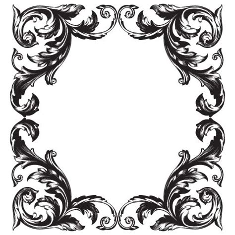 baroque designs baroque frames vector www pixshark com images