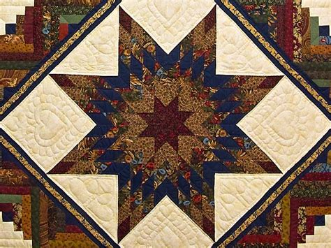 Lone Log Cabin Quilt Pattern by Lone Log Cabin Quilt Outstanding Adeptly Made