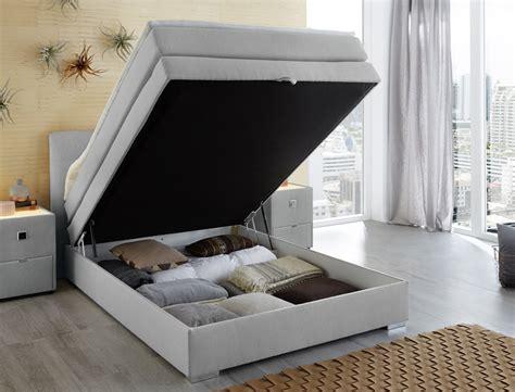 boxspringbett mit nachttisch boxspringbett amalina 140x200 hellgrau nachttisch mit