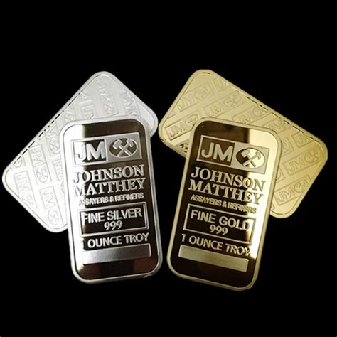 Jbs Gold 24k 2 Pcs 2 pcs the brand new american johnson matthey jm bank