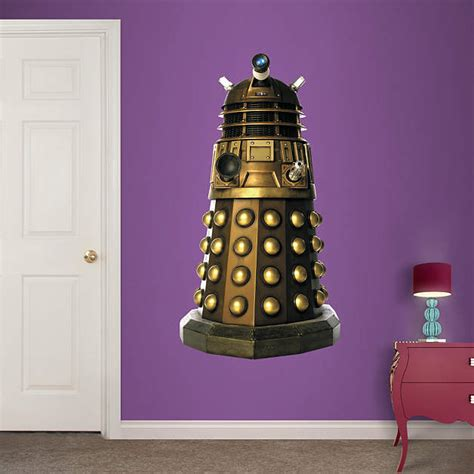 dr who wall stickers dalek wall decal shop fathead 174 for doctor who decor