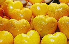 Garpu Buah Bentuk Hati T011160 bukan bentuk jantung aja yang ternyata jeruk juga bisa ark21