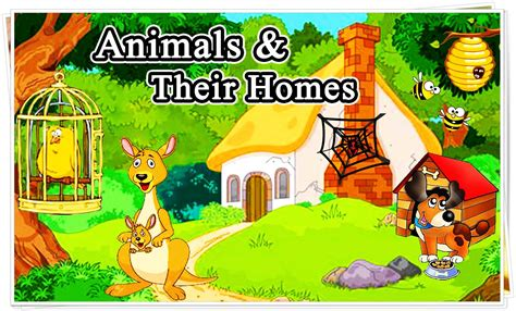 their home 100 animals and their homes list animals name a to z