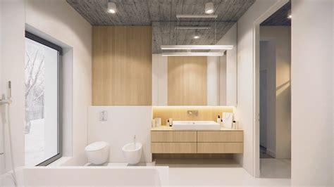 diseno de cuartos de bano minimalistas