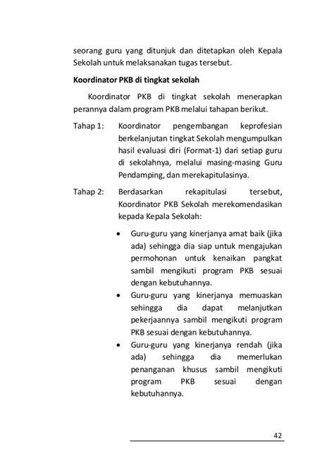 format 1 evaluasi diri guru untuk rencana pengembangan keprofesian berkelanjutan buku pedoman pengembangan profesi guru
