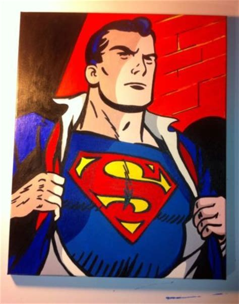 superman painting 9 best images about painting on disney mickey
