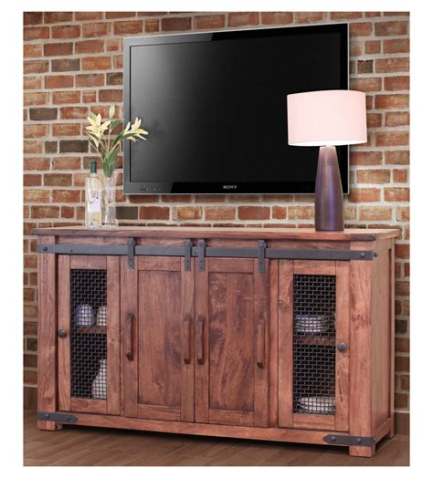 Wine Credenza Rustic Barn Door Tv Stand Barn Door Tv Stand Barn Door
