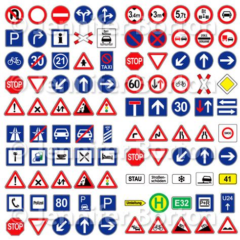 printable european road signs daily illustration 08 09 12 bortonia